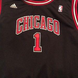 chicago bulls derrick rose basketball jersey
